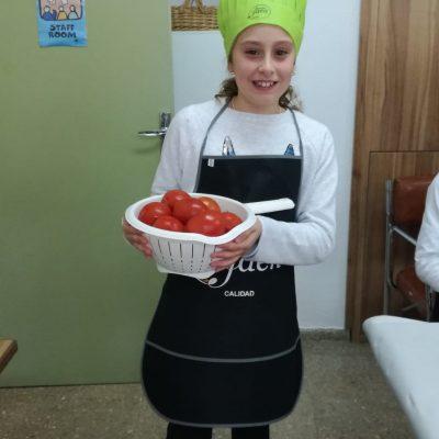 Taller de elaboración de bocadillos