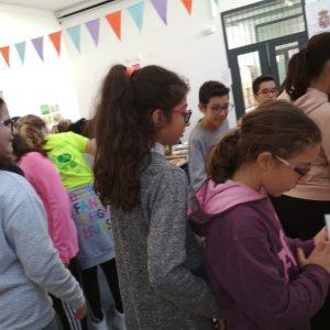 Alumnado 6º - Visita Feria del libro