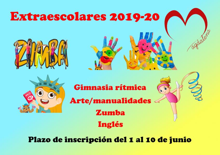 Actividades extraescolares 2019/2020