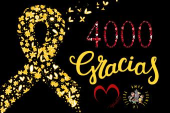 ¡4000 GRACIAS!