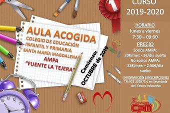 AULA DE ACOGIDA 2019-2020
