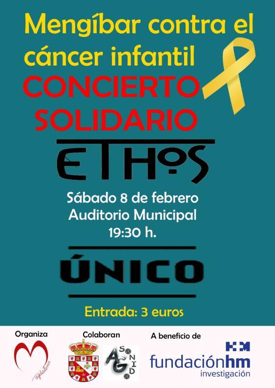 Concierto solidario a favor de la campaña «Mengíbar contra el cáncer infantil»