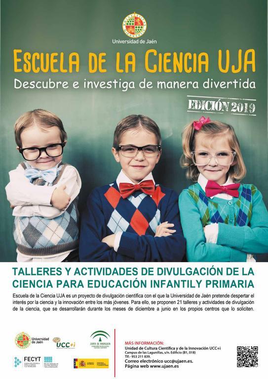 Escuela de la Ciencia UJA 2019/2020