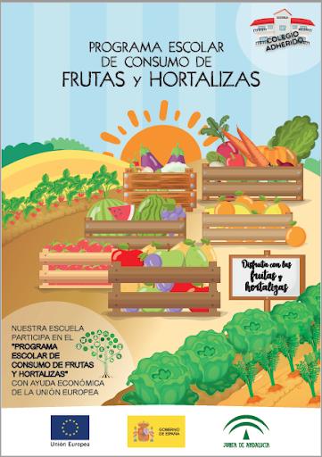 PROGRAMA CONSUMO DE FRUTAS Y HORTALIZAS EN LAS ESCUELAS 2019-2020.