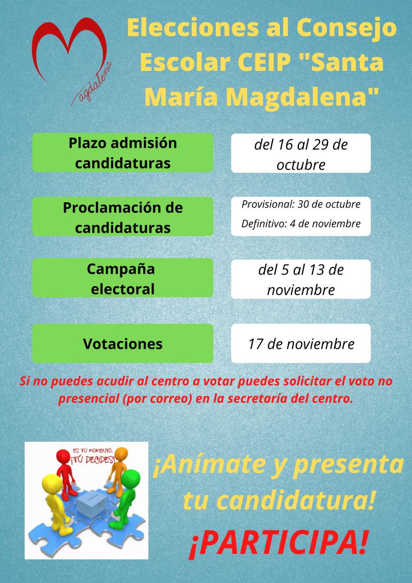 Elecciones al Consejo Escolar 2020